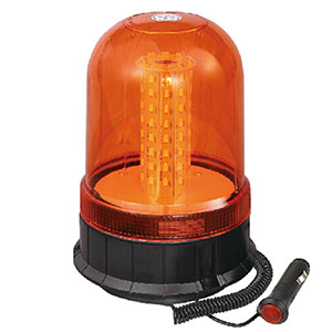 LED Beacons For Stacker SMD 24W 24 Volt Orange With Magnetic IP66 E-mark #S806
