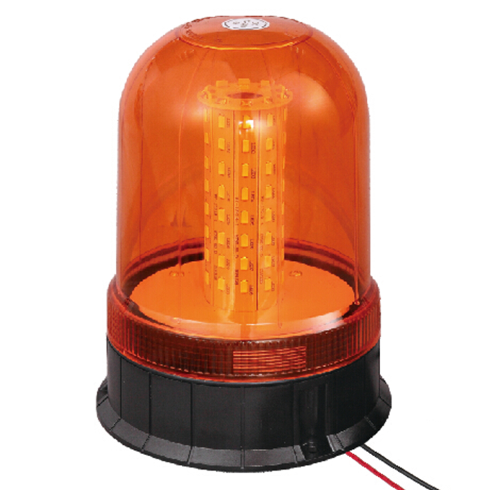 LED Beacon For Fork Truck 24W 9-30V SMD Amber With Three-Bolt IP66 ECE R10 #806