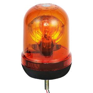 Halogen Flashing Beacon Light For Suv 55W/12V Yellow With Single-Bolt IP66 CE E9 #H806
