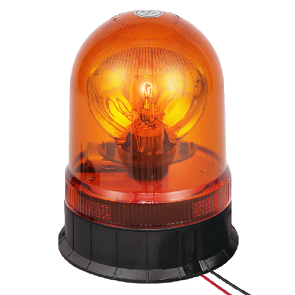 Beacon Strobe Light For Urban Bus 55W/12V Halogen Amber With Three-Bolt IP66 ECE R10/R65 #H807