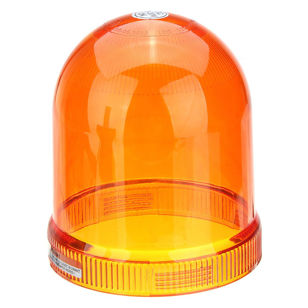 Halogen Beacon Lighting For Auto 55W/12V Amber With Din A Mount IP66 ECE R10/R65 #H806