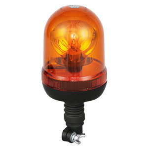 Beacon Lights For Vehicles Halogen 70W/24V Amber With Pole Mount IP66 ECE R10/R65 #H807