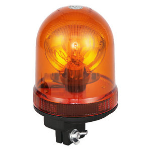 Safety Beacon Lights For Intercity Bus 55W/12V Halogen Yellow With DIN A Mount IP66 CE E9 #H807