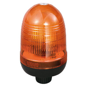 Halogen Emergency Beacon For Truck 55W/12V Amber With DIN A Mount IP66 ECE R10/R65 #H808