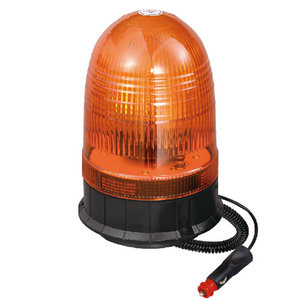 Amber Rotating Beacon Halogen For Truckshovel 55W/12V Orange With Magnetic IP66 E-mark #H808