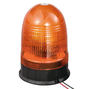 Safety Beacon For Lorry 70W/24V Halogen Amber With Three-Bolt IP66 ECE R10/R65 #H808