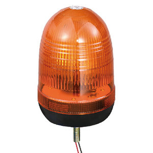 Halogen Truck Beacon Strobe Lights 55W/12V Yellow With Single-Bolt IP66 CE E9 #H808