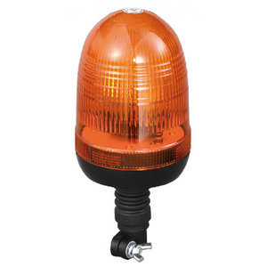 Beacon Warning Light For Refrigerated Van Halogen 55W/12V Amber With DIN A Mount IP66 ECE R10/R65 #H808
