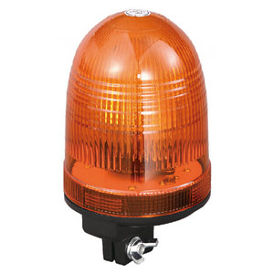 Warning Beacons For Vehicles 70W/24V Halogen Yellow With Pole Mount IP66 CE E9 #H808