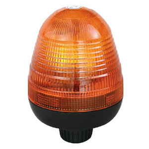 Halogen Warning Beacon Lights For Trucks 70W/24V Amber With Pole Mount IP66 ECE R10/R65 #H809