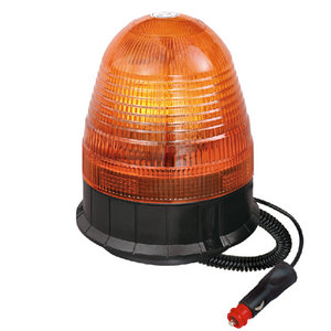 Magnetic Beacon Light For Service Truck Halogen 70W/24V Orange IP66 E-mark #H809