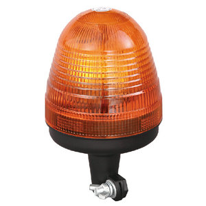Beacon Light Bar Roof Strobes Halogen For Semi-trailer Towing Vehicle 55W/12V Orange With DIN A Mount IP66 E-mark #H809