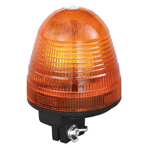 Car Beacon Light 55W/12V Halogen Yellow With DIN A Mount IP66 CE E9 #H809