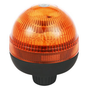Halogen Orange Flashing Beacon For Refrigerated Trailer 70W/24V With Pole Mount IP66 ECE R10/R65 #H815