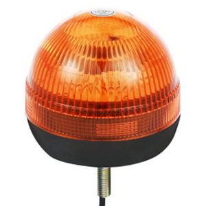 Halogen Emergency Strobe And Beacon Lights For Stake Semitrailer 70W/24V Yellow With Single-Bolt IP66 CE E9 #H815