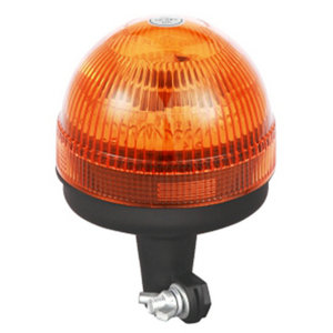 Mount Beacon Halogen For Refrigerated Semitrailer 55W/12V Orange With DIN A Mount IP66 E-mark #H815